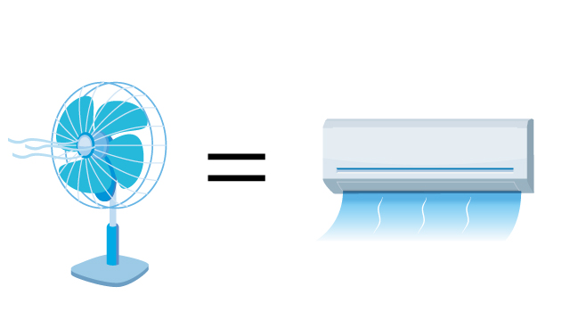 エアコンの送風モードが便利機能だって知ってた?